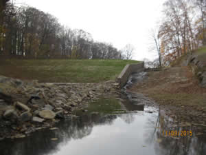 Solebury Farm Dam Overtopping Protection - Outlet Works Renovation