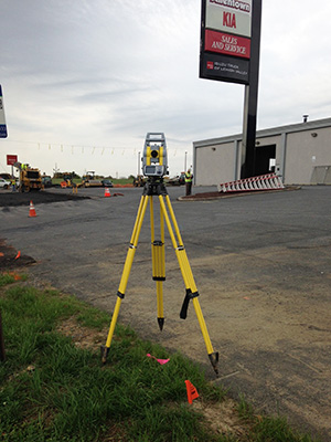 Robotic Total Station Surveying